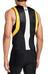 Skins M's Tri400 Top Sleeveless w Zip Black/Yellow